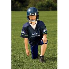 YOUTH MEDIUM Seattle Seahawks NFL UNIFORM SET Game Day Jersey Costume Age 7-9