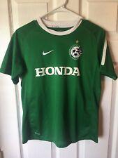 Maccabi Haifa Football Club Jersey - Youth Large - Nike - Green
