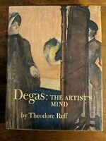 Degas The Artist's Mind by Theodore Reff First Edition 1976 Metropolitan Museum