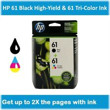 HP 61 Standard Single or Multi-Pack Ink Cartridge (Black or Tri-Color), EXP 2020