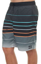 BILLABONG MEN S WEEKENDS LAYBACK MENS ELASTIC BOARDSHORT  36 POLYESTER BLACK NEW