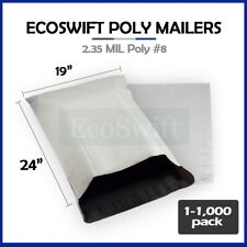 1 1000 19 X 23 Ecoswift Poly Mailers Envelopes Plastic Shipping Bags 235 Mil