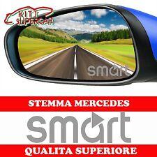 ADESIVI specchietti per SMART LOGO vetro vetrofania STICKERS AUTO specchietto