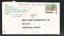 1974 Postal Workers Cover--Kelligrews, Newfoundland, Canada Hand Cancel