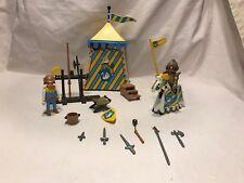 Playmobil Geobra Vintage 3654 Medieval Jousting Swan Knight Tournament Tent