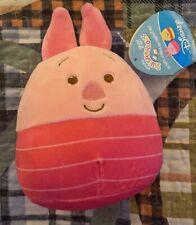 "Squishmallow 5"" Winnie the Pooh Piglet Pig Soft Pink Plush BNWT Quick Ship"
