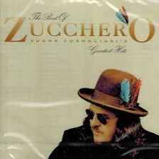CD MUSICALE NUOVO/scatola originale-ZUCCHERO-The best of-Greatest Hits