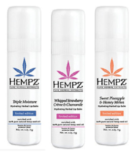 Hempz Moisture Hydrating Herbal Lip Balm, Limited Edition