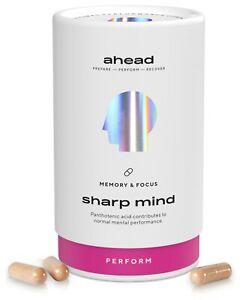 ahead SHARP MIND Brain Booster mit B5 für Konzentration, Fokus, Gedächtnis*