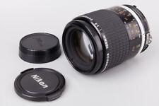 Nikon Nikkor Ai-S Micro 105mm f/2.8 f2.8 Ais Macro Manual Focus Portrait Lens