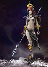 Andrea Miniatures zweothel Queen of Darkness NON VERNICIATA KIT MODELLO 54mm
