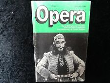Opera Magazine - January 1988