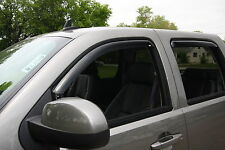 Toyota Tundra Crew Max  2007 - 2016 In-Channel Wind Deflector Vent Visor Shade
