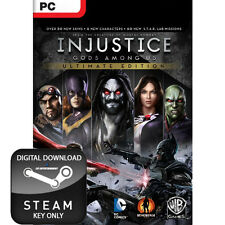 Injustice gods among us ultimate edition pc steam key