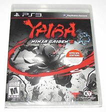 Yaiba Ninja Gaiden Z for Playstation 3 Brand New! Factory Sealed!