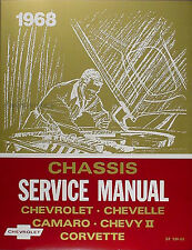 Best Shop Manual for 1968 Chevy SS Impala Caprice Bel Air Biscayne 68 Chevrolet