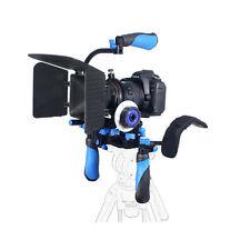 DSLR/VCR Shoulder Mount Rig+Follow Focus+Matte Box For DSLR/DV Video Camera