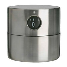 Kitchen Timer Stainless Steel Mechanical - IKEA Ordning - NEW