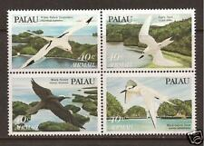 PALAU ISLANDS #'s C1-C4 Airmail Tropical Birds