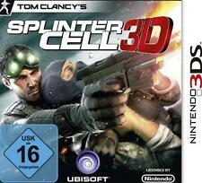 Nintendo 3DS SPLINTER CELL 3D Deutsch ** Top Zustand