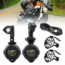 Set For BMW F800GS Motorcycle LED Auxiliary Fog Light Assemblie Driving Lamp 40W
