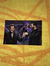 Johnny Hallyday Yodelice Photo Dedicace Autograph Mon Pays C'est L'amour