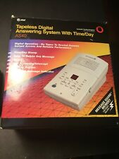 New Open Box Tapeless Digital Answering System AT&T AS40 Tested Working!