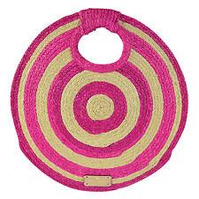 NEW Kate Spade Women for Women Circle Tote PXRU3492 Natural Pink