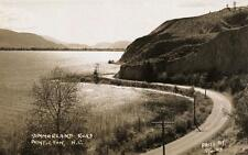 Photo. ca 1944. Penticton, B.C Canada. Sky View Penticton-Summerland Road