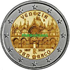 ITALIA 2017 2 EURO BASILICA DI SAN MARCO VENEZIA ITALY ITALIEN ITALIE ИТАЛИЯ