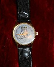 Vintage Enecso Precious Moments Collectors Club Watch 1994 Leather Band