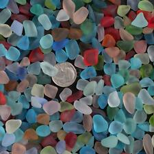 Sea Beach Glass Beads Mixed Colors Bulk Blue Green Jewelry Pendant Decor