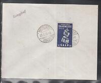 SAAR SAARLAND of beautiful Cover FDC 1953 - SAAR FAIR