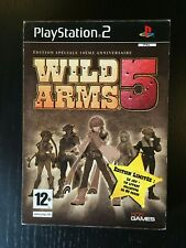 Wild Arms 5 PS2 - COMPLET FR - Version Collector 10eme Anniversaire