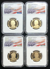2015 S Proof Presidential $1 Dollar 4 Coin Set Graded NGC PF69 Ultra Cameo B7d