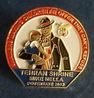 VINTAGE SHRINERS MASONIC GOLD ENAMELED TEHRAN SHRINE POTENTATE PIN 2012