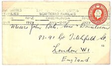 TT106 1929 NEW ZEALAND *Telephone Slogan* Postal Stationery {samwells-covers}PTS