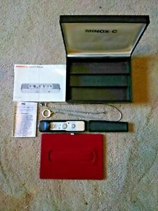 Minox C Subminiature Spy Camera