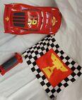Disney Pixar Cars Flag Finish Lightning McQueen Toy Car 80+ Sounds & Phrases