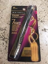 MAYBELLINE PULSE PERFECTION MASCARA,#841 VERY BLACK, NEW & CARDED!RARE-FAST SHIP
