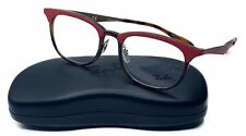 Ray-Ban Women's Red Tortoise Glasses with case RB 7112 5730 53mm