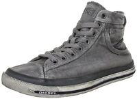 Diesel Exposure I Gunmetal Mens Hi Trainers Boots