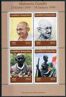 Madagascar 2019 CTO Mahatma Gandhi 4v M/S Famous People Stamps