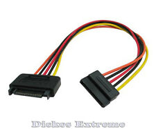 CG 12 INCH SATA 15PIN POWER EXTENSION CABLE # GC12AMF
