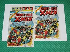 Giant-Size X-Men #1 Beautiful Repro Cover Only w/Orig Ads 1st New Uncanny Marvel
