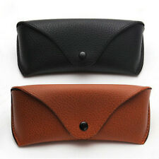 Vintage Leather Glasses Case Sunglasses Protector Holder Box Case Cover