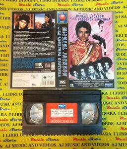 VHS motown presents MICHAEL JACKSON La leggenda continua 1993 no cd dvd lp (VM4)