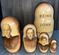 Being John Malkovich Russian Nesting Doll Set 5 Pieces movie promo swag 1999