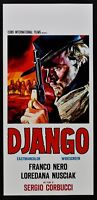 Plakat Django Franco Schwarz Loredana Nusciak Sergio Corbucci Kino Film L119