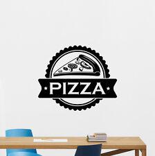 Pizza Wall Decal Pizzeria Vinyl Sticker Kitchen Food Decor Housewares Art 126hor